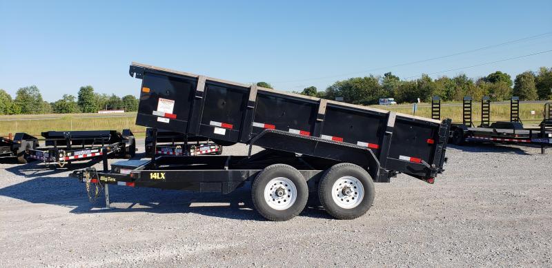 "2015 Big Tex 83""X14' Dump Trailer"