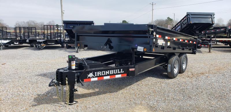 "2019 Iron Bull 96""X14' Dump Trailer"