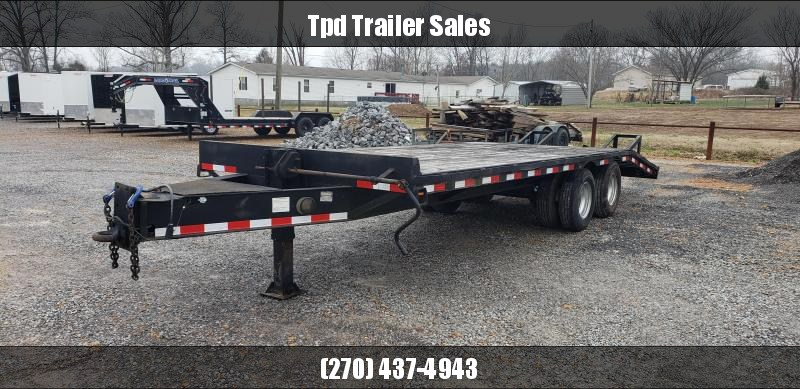 Shop Built 8'X23' Flatbed Trailer