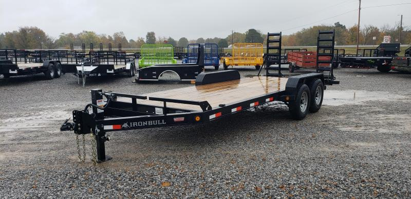 "2019 Iron Bull 83""X20' Equipment Trailer"