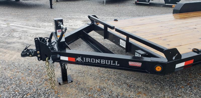 """2019 Iron Bull 83""""X20' Equipment Trailer"""