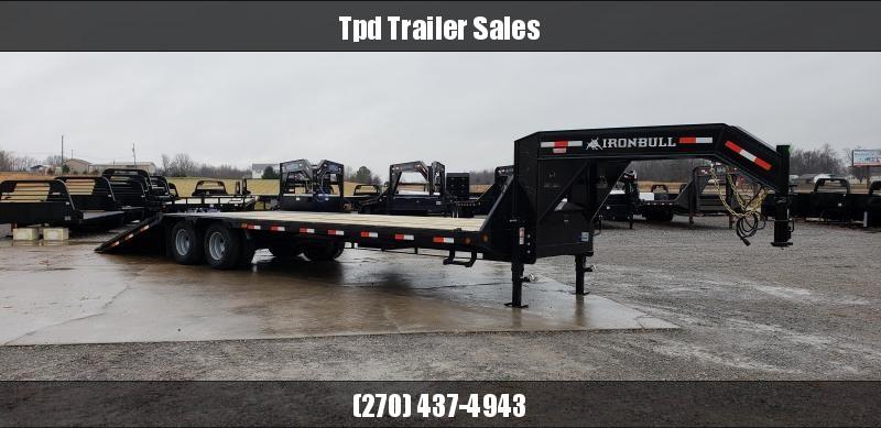 "2019 Iron Bull 102""X32' Hyd Dove Gooseneck Trailer in Ashburn, VA"