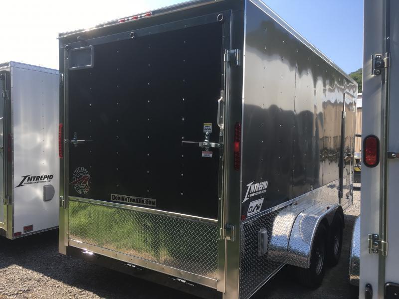 2019 Homesteader 7x16 Intrepid OHV pkg 1ft extra height Enclosed Cargo Trailer