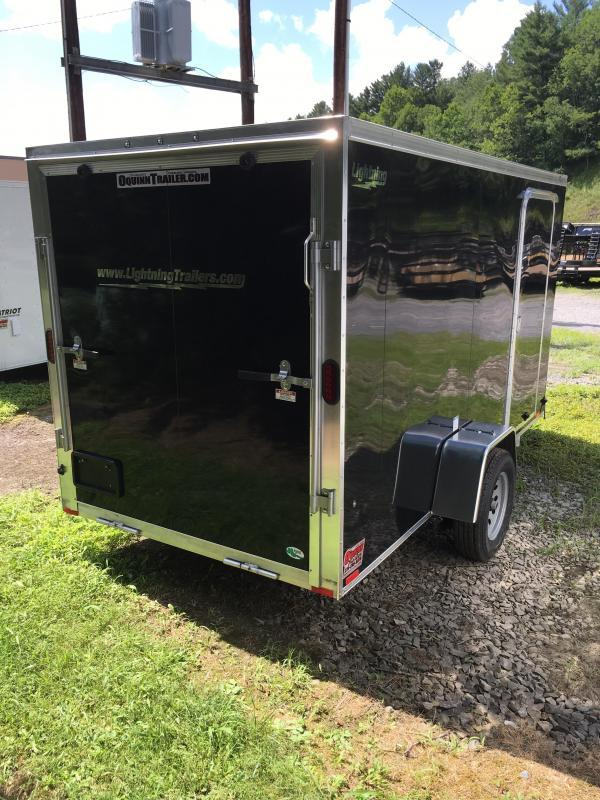 2019 Forest River Inc. 6x12 lightning aluminum Enclosed Cargo Trailer