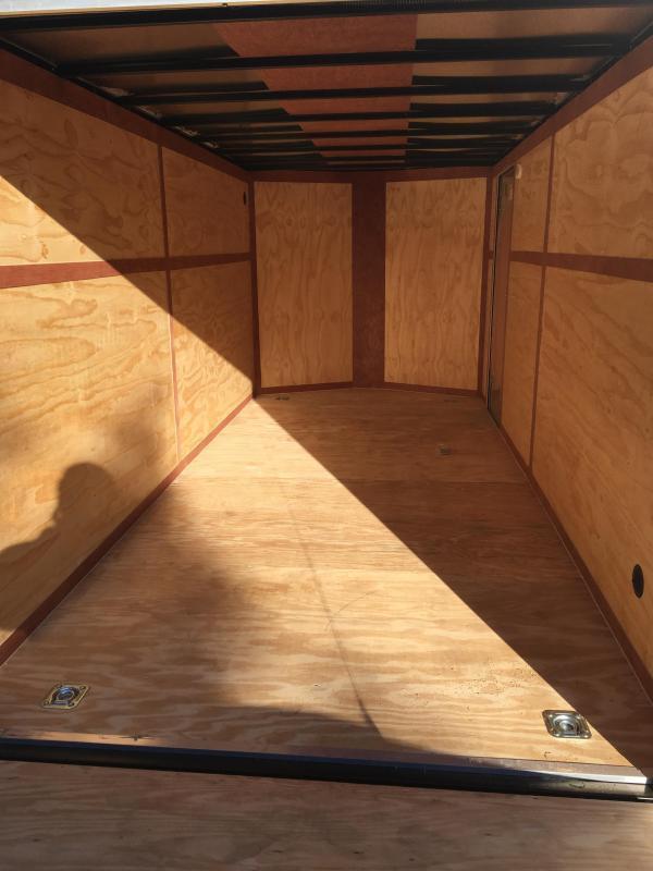2020 Continental Cargo 7x16 vnose sd ramp door Enclosed Cargo Trailer