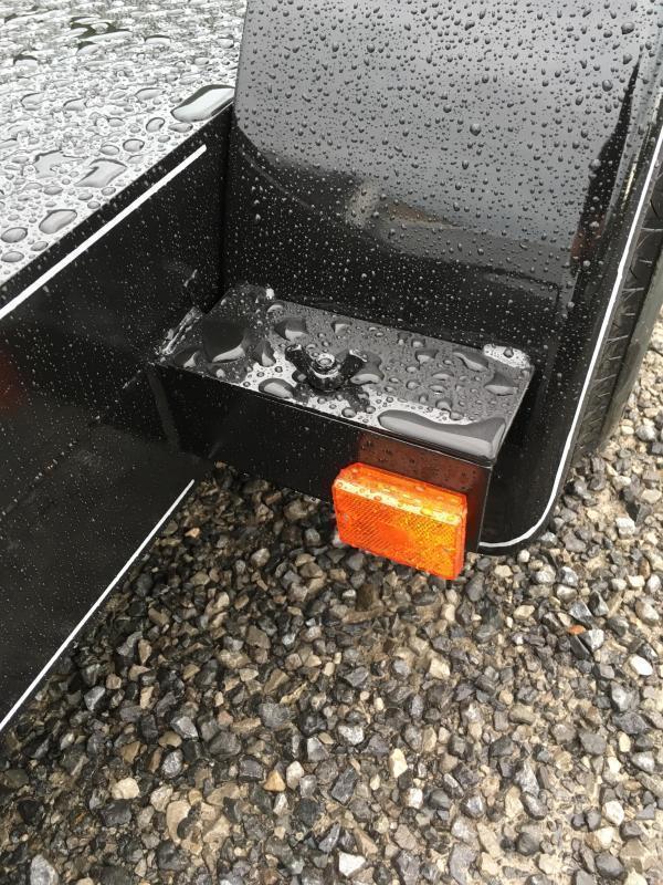 2019 Other 82x18 steel car hauler left removable fender Car / Racing Trailer