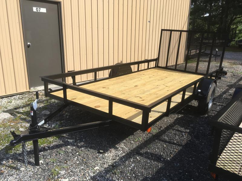 2019 Other (Not Listed) 76x14 gate HD single axle Utility Trailer