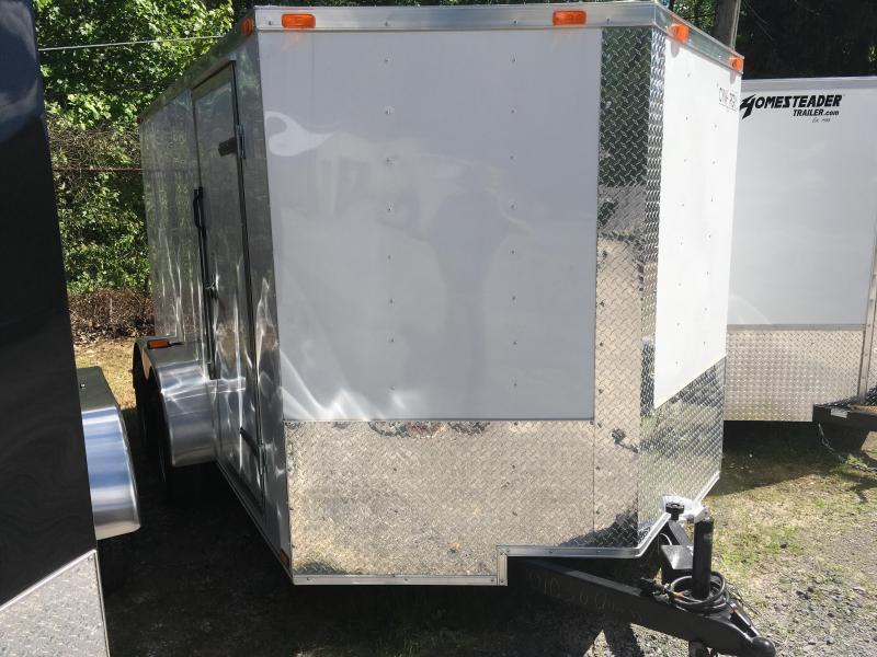 2019 Cynergy 7x12 tandem vnose sd ramp Enclosed Cargo Trailer