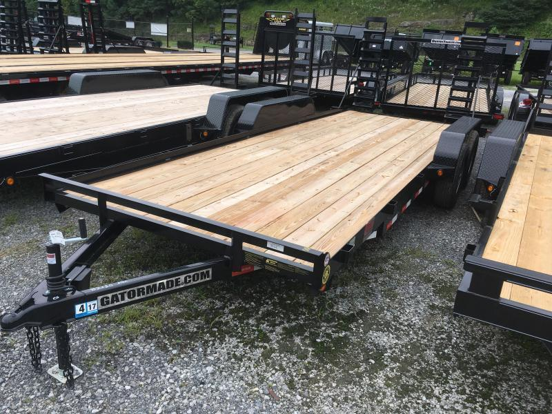 2019 Gatormade Trailers 20ft 5 ton Equipment Trailer