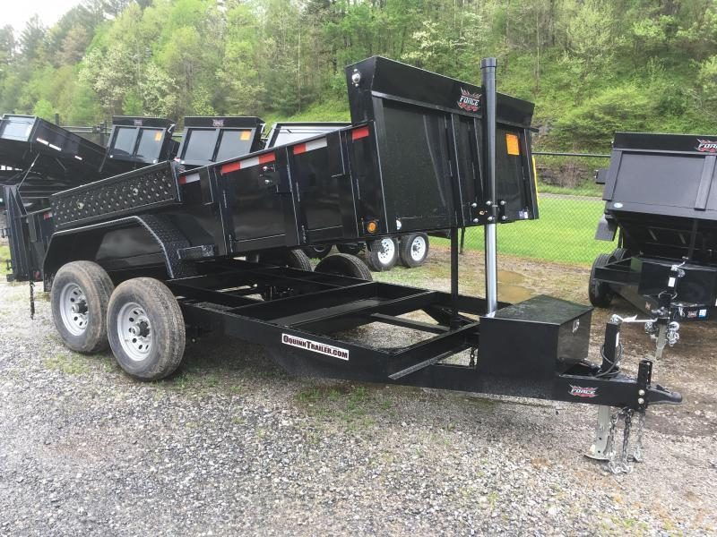 2019 Forest River Inc. 7x14 7ton telescopic hoist Dump Trailer