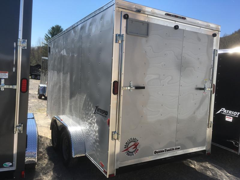 "2019 Homesteader 7x14 Intrepid 12"" EXTRA HT Enclosed Cargo Trailer"