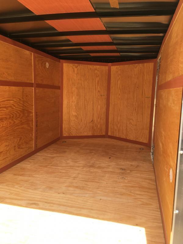 2019 Homesteader 7x12 tandem axle Intrepid sd ramp door Enclosed Cargo Trailer