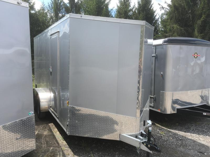 2019 Forest River Inc. 7x16 Aluminum 7ft Tall Enclosed Cargo Trailer