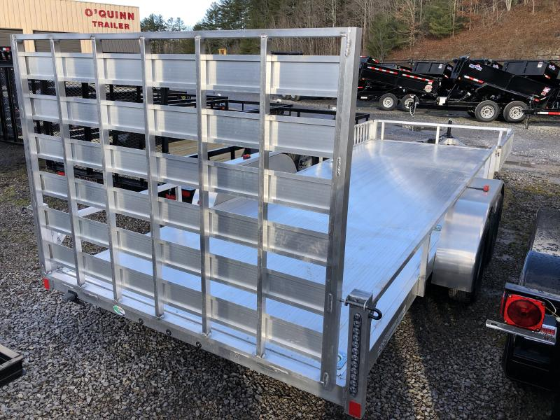 2019 Forest River 78x20 all aluminum w/side ramps Utility Trailer