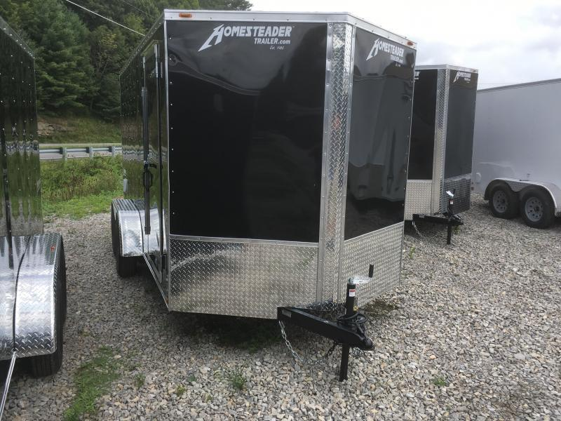 "2019 Homesteader 7x14 Intrepid 6"" EXTRA HT sd ramp Enclosed Cargo Trailer"