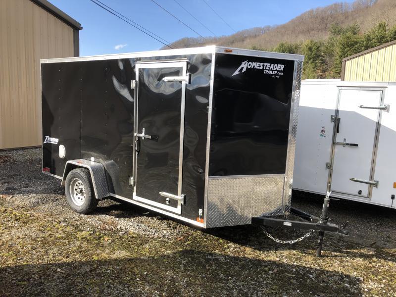 2019 Homesteader Inc. 6x12 intrepid sd ramp single axle Enclosed Cargo Trailer