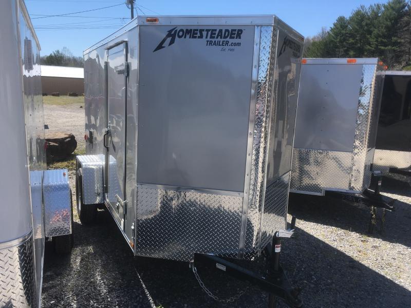 2019 Homesteader 5x10 patriot/intrepid sd ramp door Enclosed Cargo Trailer
