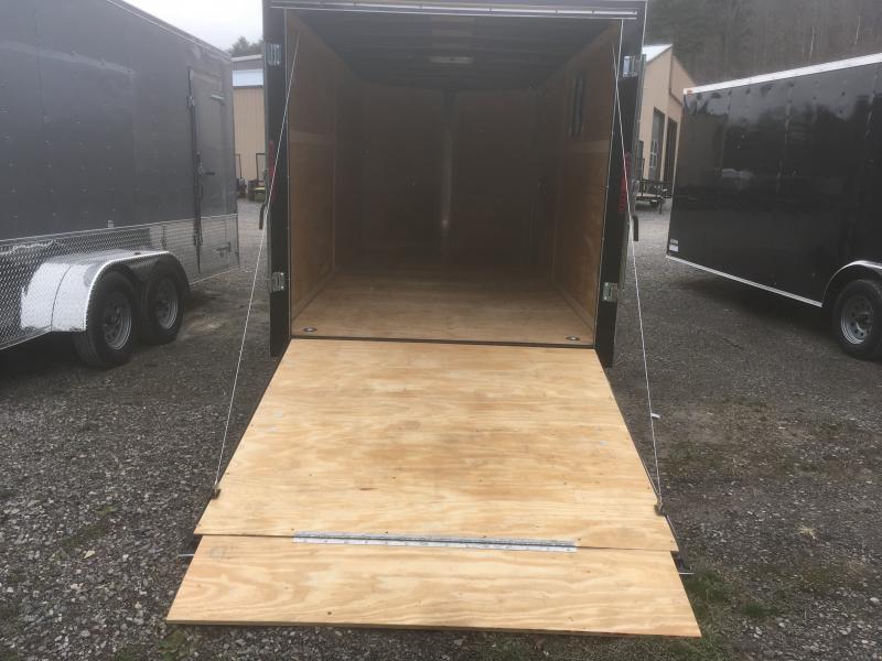 2019 Homesteader 7x16 Intrepid 6in extra ht 6.5 tall inside w/window Enclosed Cargo Trailer