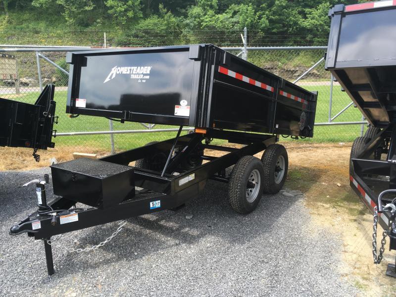 2019 Homesteader 6x10 5 ton dump Dump Trailer