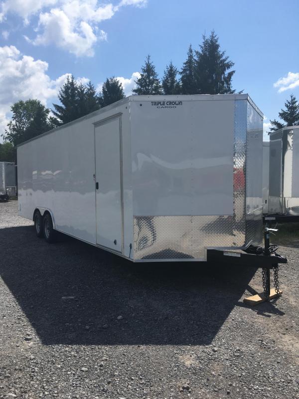 2019 Triple Crown Cargo 8.5x24 5 ton car hauler Enclosed Cargo Trailer