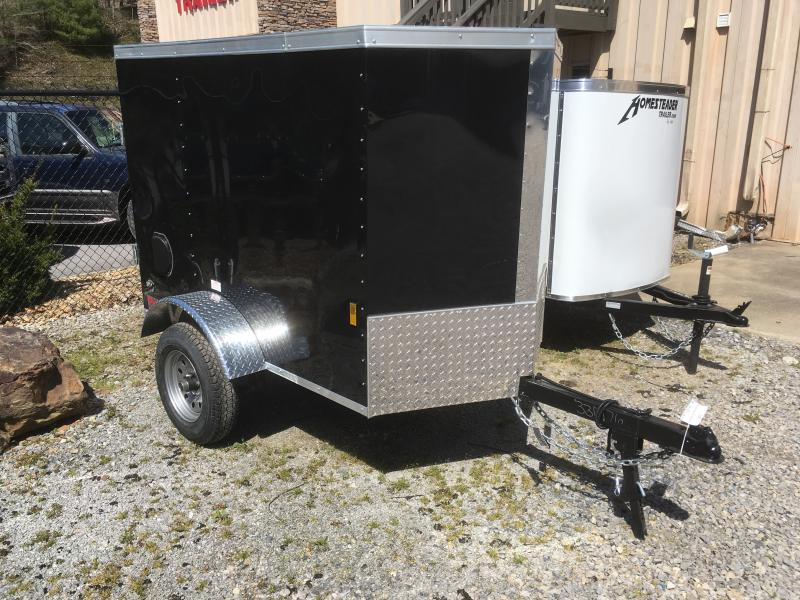 2019 Continental Cargo 4x6 swing door v-nose Enclosed Cargo Trailer