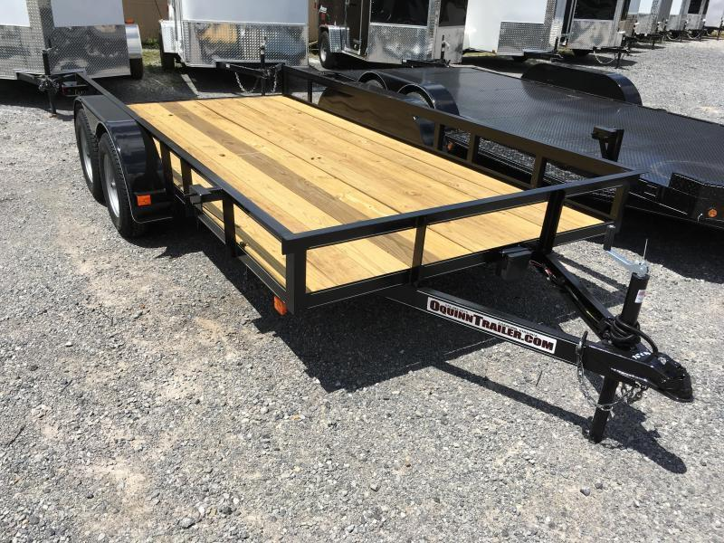 2019 Other 76x14 tandem utility no gate with brake Utility Trailer