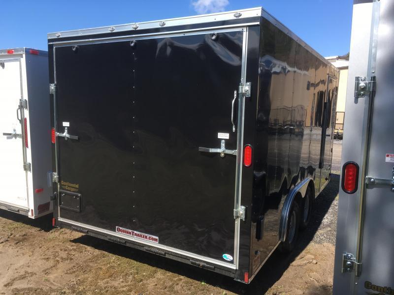 2019 Continental Cargo 8.5x16 car hauler Enclosed Cargo Trailer