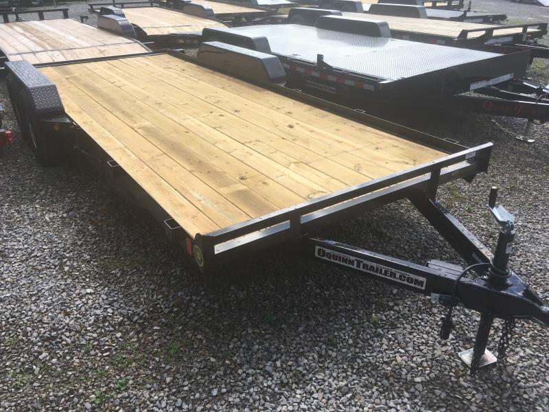 2019 Gatormade Trailers 20ft 5ton dovetail wood car hauler Car / Racing Trailer