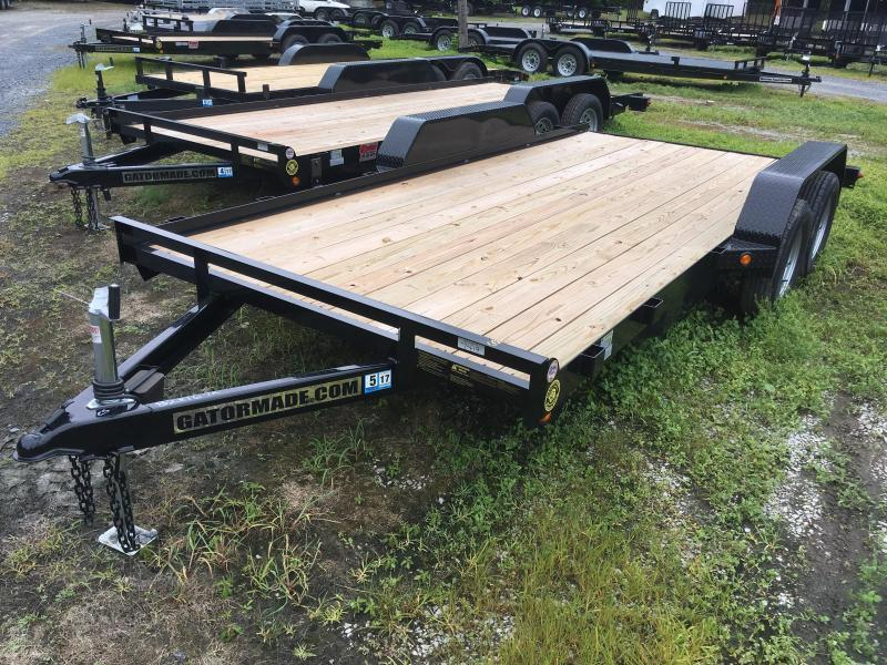 2019 Gatormade Trailers 16 wood car hauler Car / Racing Trailer