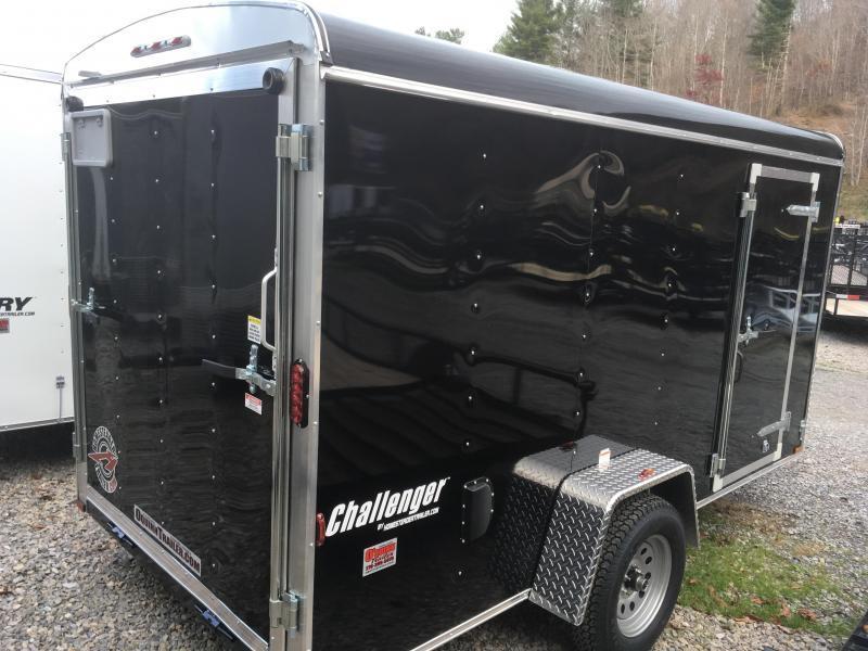 2019 Homesteader Inc. 6x12 Challenger Ramp single axle Enclosed Cargo Trailer