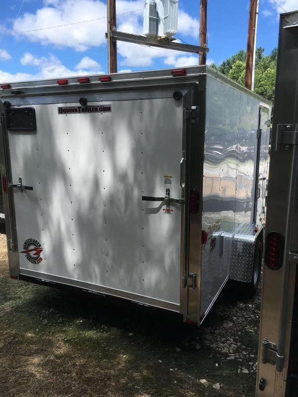2020 Homesteader 7x12 Intrepid single axle sd ramp door Enclosed Cargo Trailer