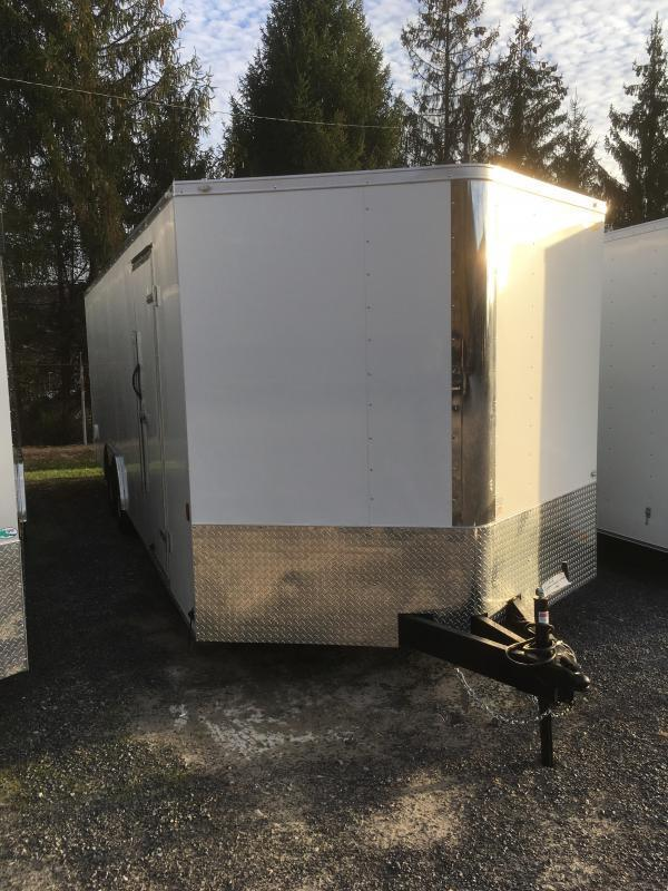 2019 Continental Cargo 8.5x24 5ton car hauler Enclosed Cargo Trailer