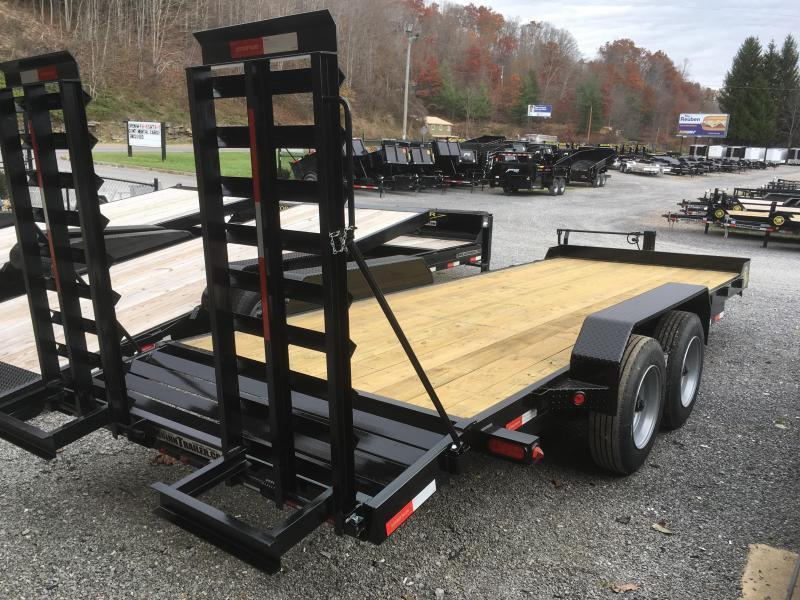 2019 Gatormade Trailers 82x20 17600 GVWR 17.5 Tires 8k axles Equipment Trailer