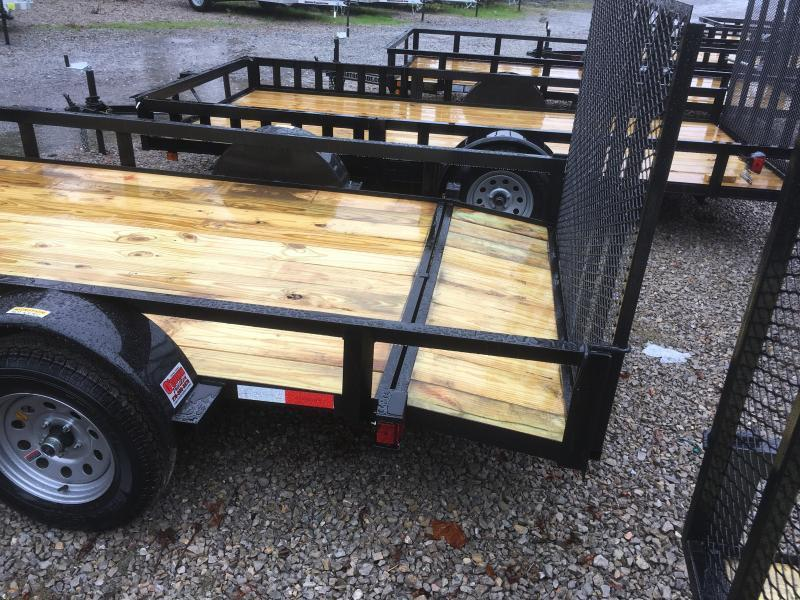 2019 Other (Not Listed) 76x12 HD dovetail with gate single axle Utility Trailer