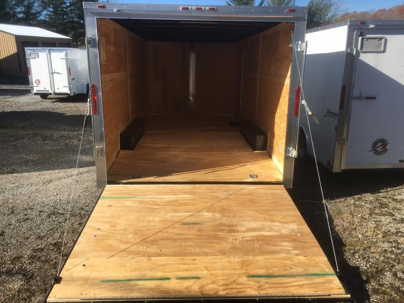 2019 Homesteader Intrepid 8.5x18 car hauler Enclosed Cargo Trailer