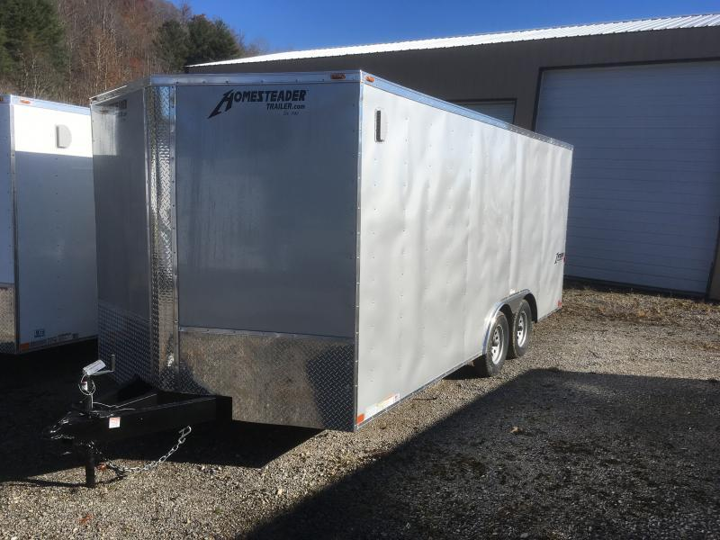 2019 Homesteader Intrepid 8.5x18 car hauler Enclosed Cargo Trailer