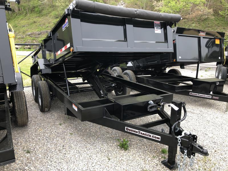 2019 Hawke Trailers 7X14 7TON  WITH TARP Dump Trailer