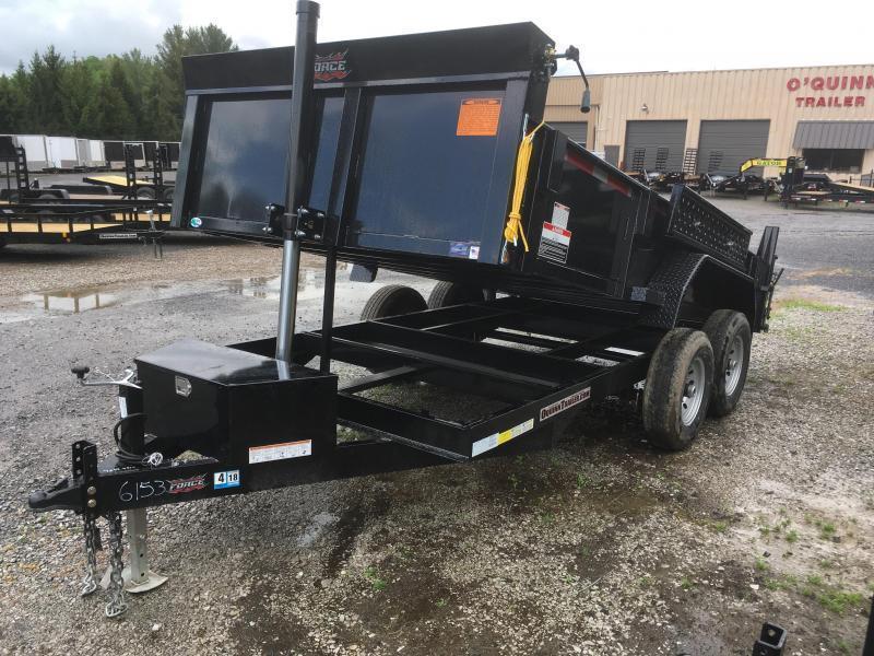 2020 Forest River Inc. 7x14 7ton telescopic hoist Dump Trailer