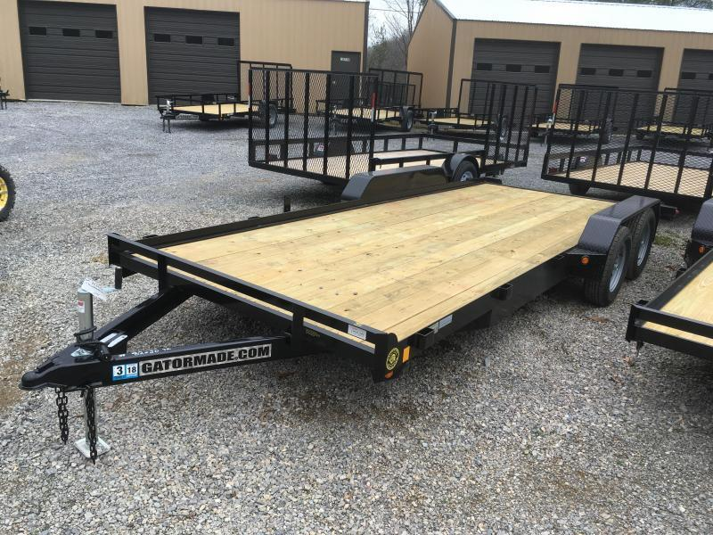 2018 Gatormade Trailers 20ft dovetail wood car hauler Car / Racing Trailer