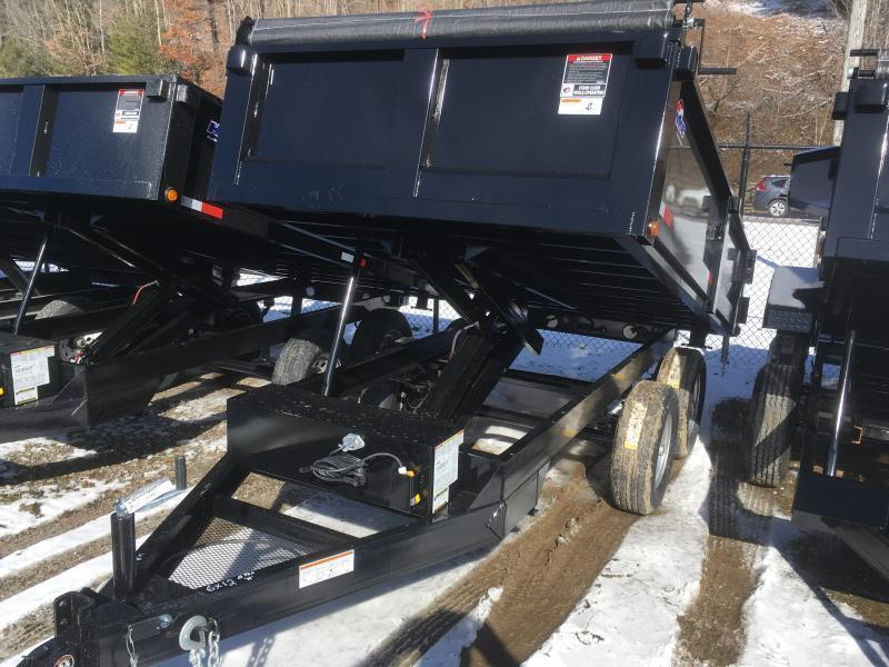 2018 Hawke Trailers 6X12 5TON DECKOVER WITH TARP Dump Trailer