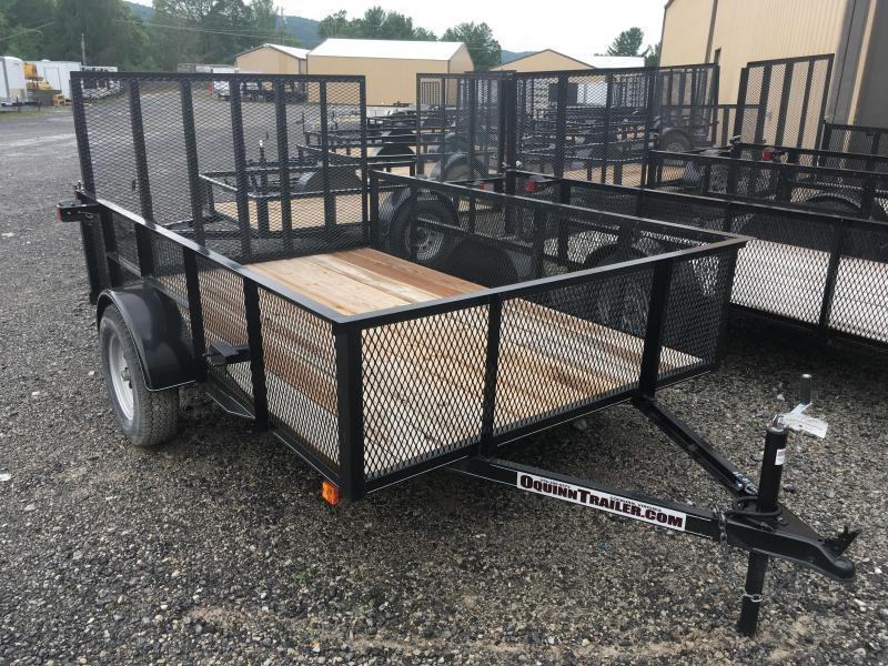 2019 Other (Not Listed) 76x10 2ft mesh side single axle Utility Trailer