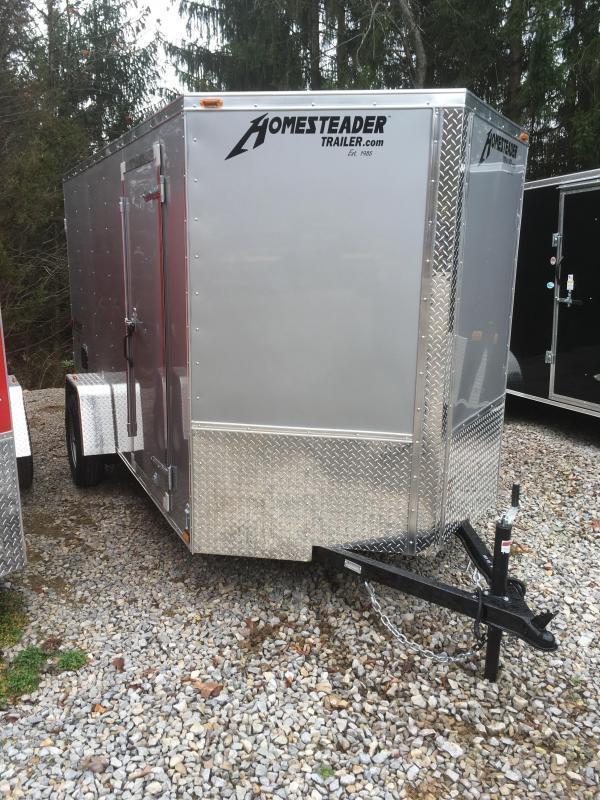 2019 Homesteader Inc. 6x12 Intrepid sd double door single axle Enclosed Cargo Trailer