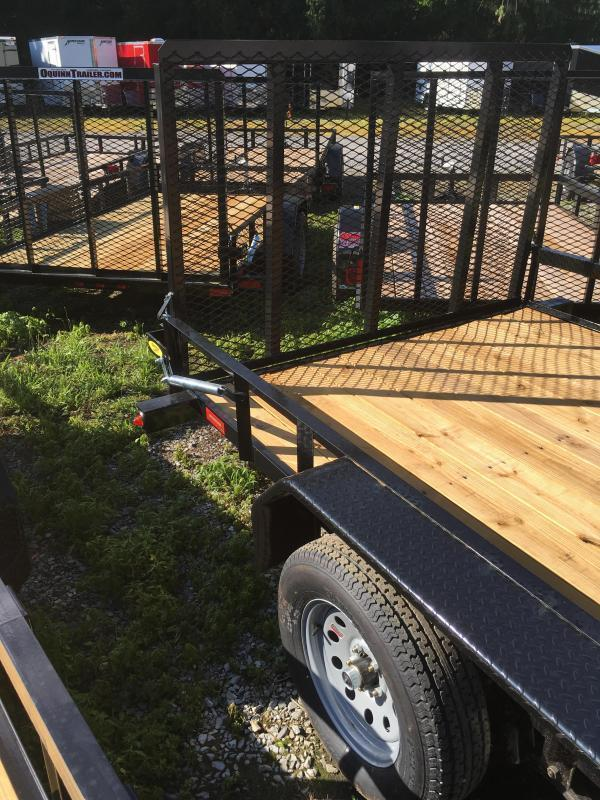2019 Gatormade Trailers 82x16 Utility Trailer