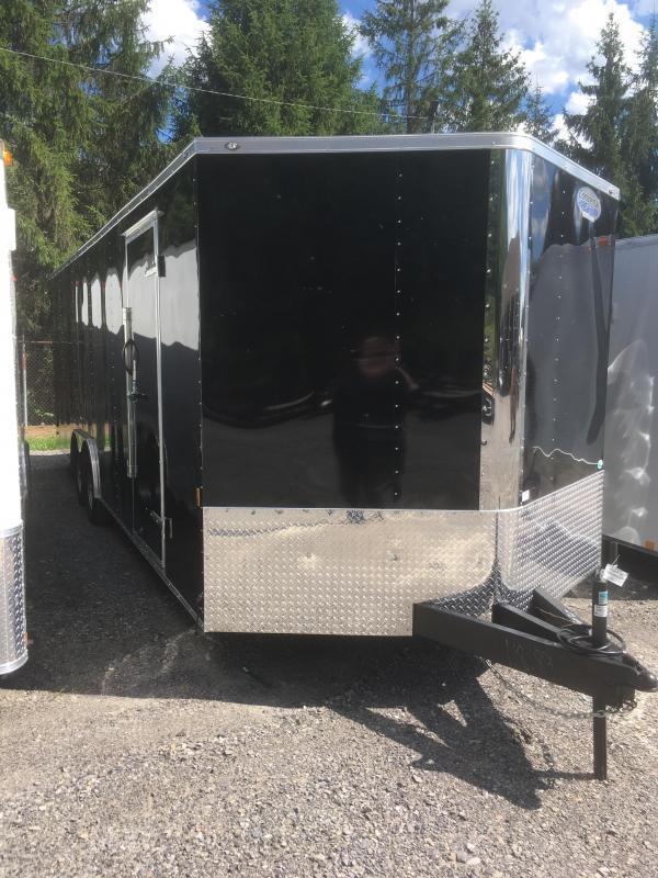 2019 Continental Cargo 8.5x24 5ton car hauler w/escape door Enclosed Cargo Trailer