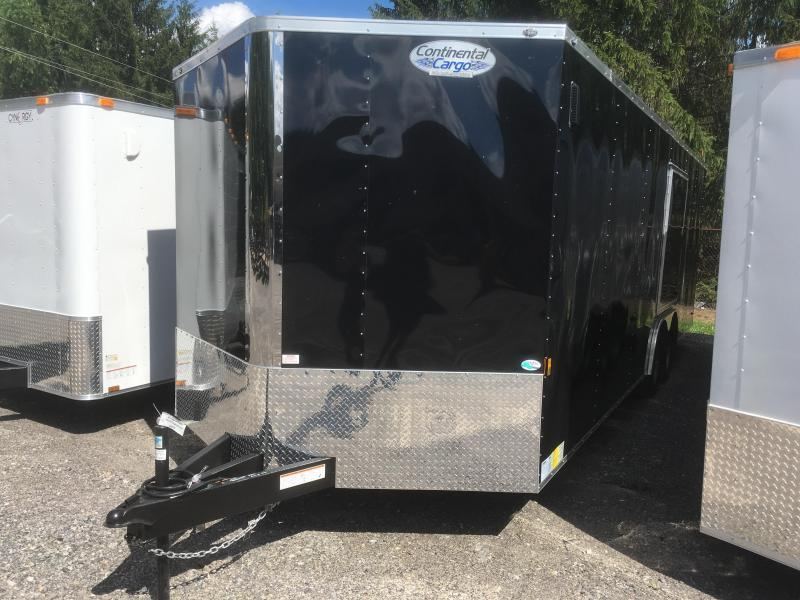 2019 Continental Cargo 8.5x24 5ton car hauler w/escape door Enclosed Cargo Trailer
