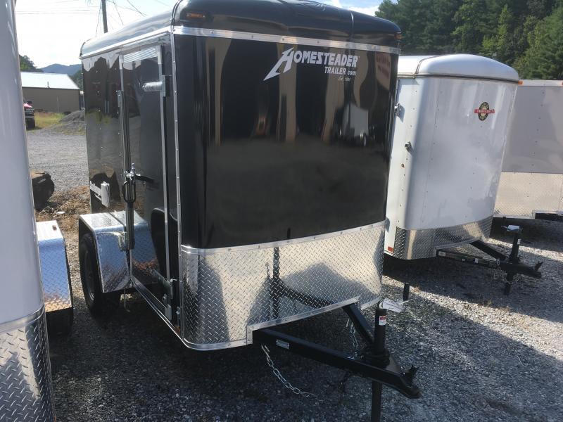 2019 Homesteader Inc. 5x8 challenger sd ramp door 6in extra ht Enclosed Cargo Trailer