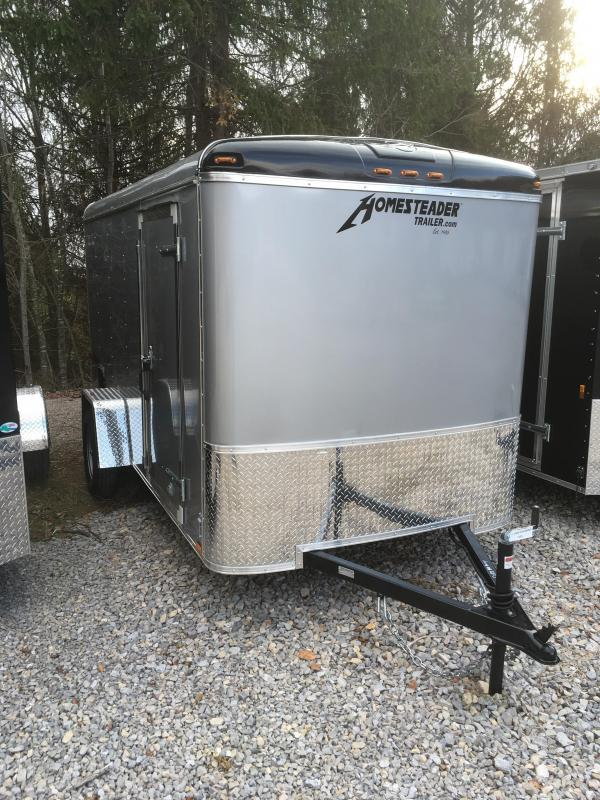 2020 Homesteader Inc. 6x12 challenger sd ramp Enclosed Cargo Trailer