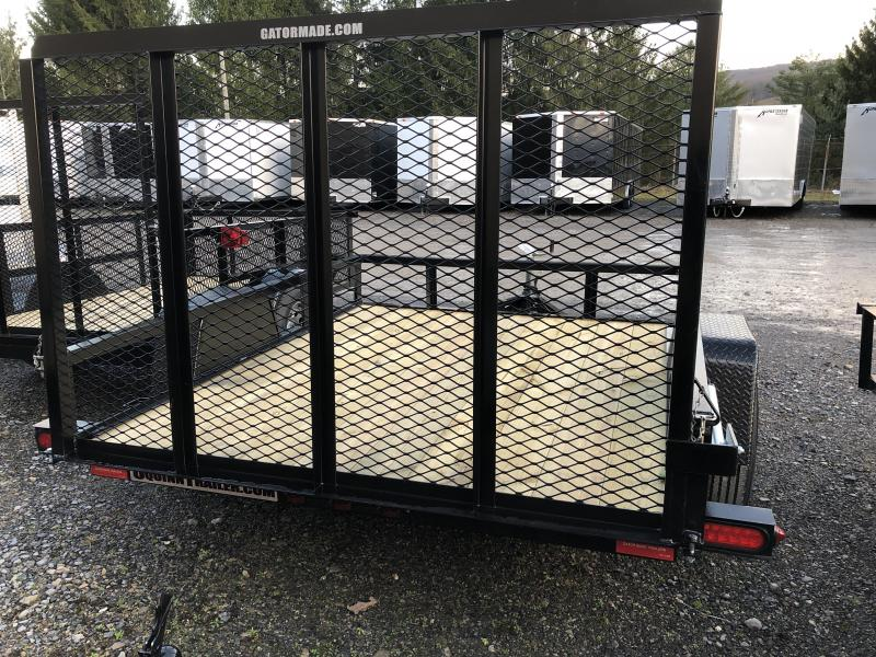 2019 Gatormade Trailers 76x8 gate single axle Utility Trailer