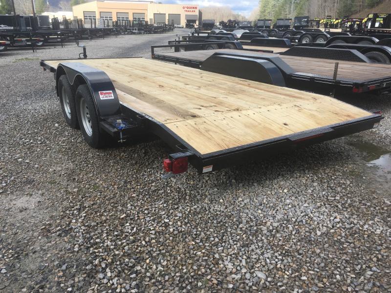 2019 Quality Trailers 82x18 wood car hauler Car / Racing Trailer