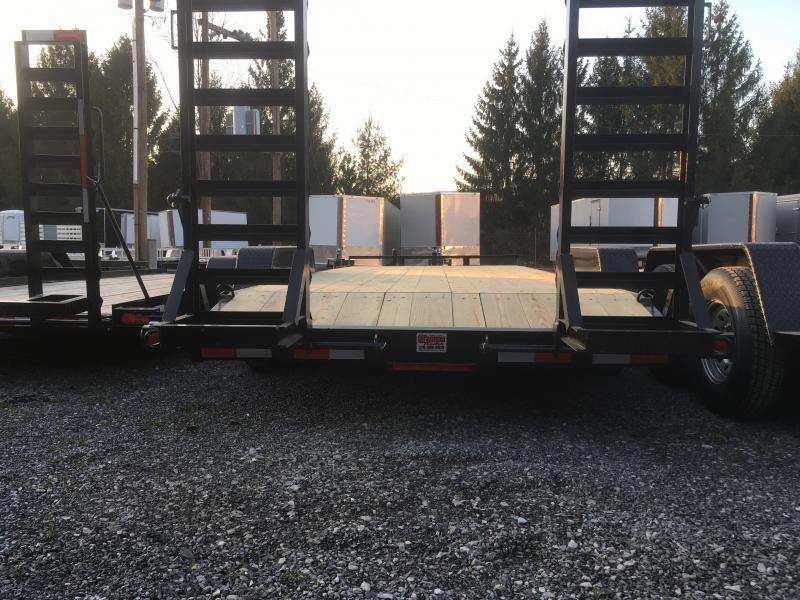 2018 Quality Trailers 82x18 7ton bumper pull Equipment Trailer